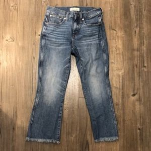 Madewell size 26P Cali Demi Boot Jeans